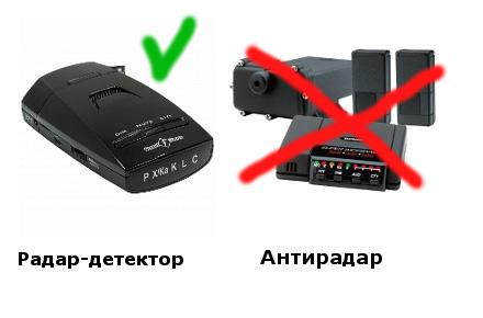 радар-детектор или антирадар?